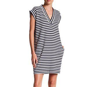 ATM   V-Neck Cap Sleeve Dress   S